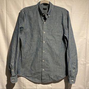 J. Crew Men's Size M Button Down Shirt SLIM FIT